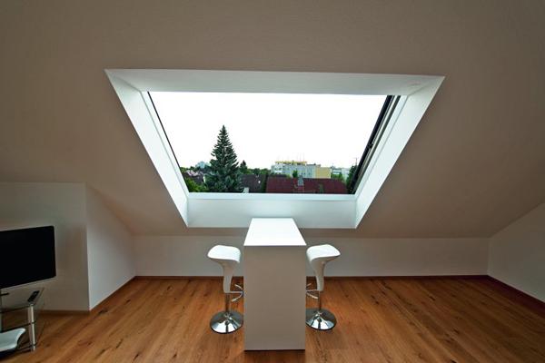 Okno dachowe panoramiczne