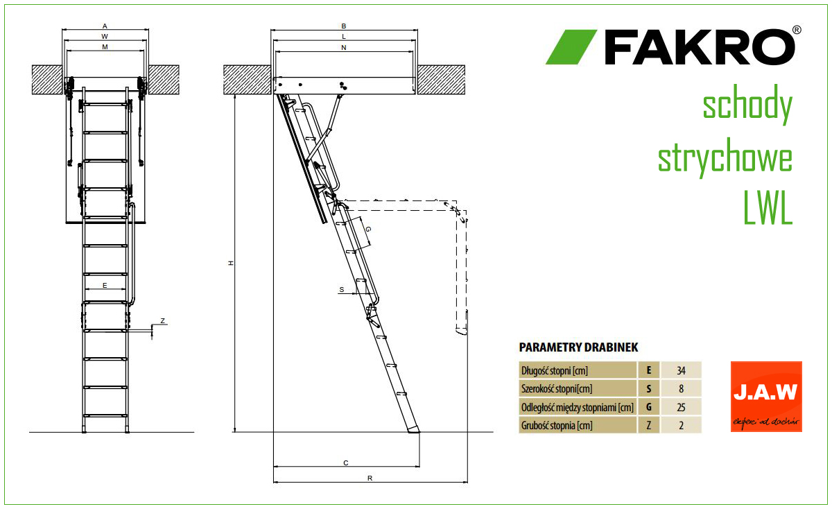 schody strychowe drewniane metalowe no ycowe fakro jaw konin. Black Bedroom Furniture Sets. Home Design Ideas